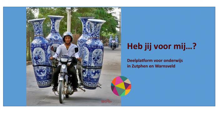 Heb jij voor mij…? – deelplatform voor onderwijs in Zutphen en omgeving
