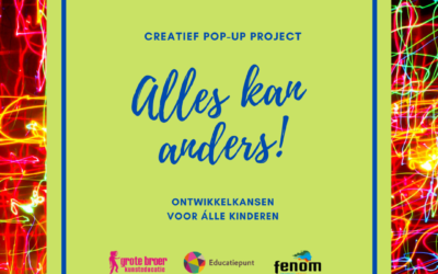 Pop-up project 'Alles kan anders!'